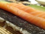 31. Tsuru - Add avocado to the salmon strips