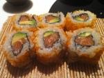 37. Tsuru - My california roll effort! Surprisingly 'passable'