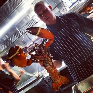 Burger & Lobster - 8lb10oz monster!