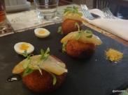 GrEAT British - Kedgeree, quails eggs, Suffolk smoked haddock