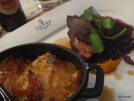 GrEAT British - Roast Suffolk lamb, Cumbrian bacon and Lancashire hotpot