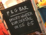 KERB Winter Party - French & Grace, Spiced Winter Rum Cocktails!