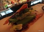 The John Salt - Greasy Chicken Skin Sandwich (Paprika mayonnaise, cucumber, baby gem, red onion) (2)