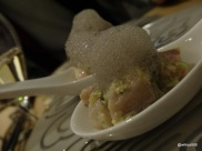 "Bo London - ""Cloud"" made from sesame foam"