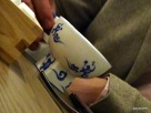 Bo London - Note the 'Demon Chef' logo on the teacup