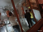City of London Distillery (COLDistillery) - Everything is visible from the bar, behind 1 inch thick safety glass