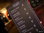 FEAST LONDON (Tobacco Dock) - Plenty of seating, lots of bars and lots of food