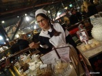 FEAST LONDON (Tobacco Dock) - Le Petit Paris... rocking the French Maid look...
