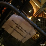 FEAST LONDON (Tobacco Dock) - Warnings for the more 'challenged' guests...