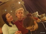 FEAST LONDON (Tobacco Dock) - Meringue Girls... smiley!