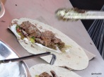 Munch Street Food - Bhangra Burger, wraps in the making