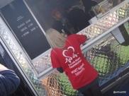 Munch Street Food - Byron Burger... serving British Heart Foundation