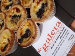 Cheese & Wine Festival - Galeta, Pastel de Nata with Fresh Blueberries