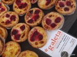 Cheese & Wine Festival - Galeta, Pastel de Nata with Fresh Raspberries