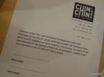 Google Local and Chin Chin Labs 'Ice Cream Experiment' - Disclaimer