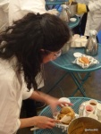 Google Local and Chin Chin Labs 'Ice Cream Experiment' - Plating up