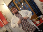 Google Local and Chin Chin Labs 'Ice Cream Experiment' - Lab Coat Fits Perfectly