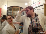 Google Local and Chin Chin Labs 'Ice Cream Experiment' - Modelling the 'Close Fitting' Lab Coat