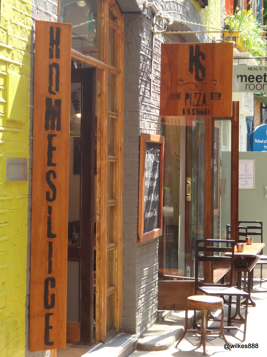 Homeslice – Neil\'s Yard, Covent Garden | @wilkes888 - London based ...
