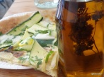 Homeslice - Courgette and Artichoke Pizza Slice