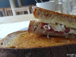 Raw Duck - 'The Reuben', perfectly toasted