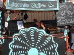 Feast London Jul 2013 - Bonnie Gull serving seafood