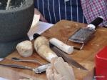 Feast London Jul 2013 - Flatiron Steak, freshly grated horseradish