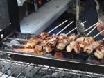 Feast London Jul 2013 - Platterform with Far-Eastern bites