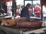 Feast London Jul 2013 - Pig & Butcher, rump or ribs?