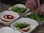 Feast London Jul 2013 - Mumma Schnitzel's Burgers in the making...
