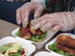 Feast London Jul 2013 - Mumma Schnitzel... Schnitzel Burgers!
