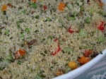 Feast London Jul 2013 - The Detox Kitchen Deli - quinoa salad