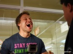 Guinness World Record Attempt by Furious Pete - The obligatory mouth inspection