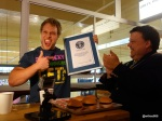 Guinness World Record Attempt by Furious Pete - Four Burgers in one minute