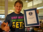 Guinness World Record Attempt by Furious Pete - Well done!