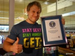 Guinness World Record Attempt by Furious Pete - The new record holder