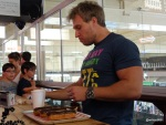 "Guinness World Record Attempt by Furious Pete - Attempting the ""Fastest Time to Eat 3 Chocolate Eclairs"""