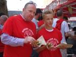 Burger Challenge at Lower Marsh Market - Proud Burger Judges