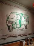 Pizza Pilgrims Launch Party - The Pizza Pilgrims Van, 'Concetta'... on Pizza Boxes