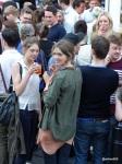 Pizza Pilgrims Launch Party - Huge crowds!