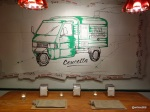 Pizza Pilgrims Launch Party - You can eat next to the van... just like Berwick Street...