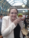 Shake Shack London (Preview) - Someone is pleased to have a burger