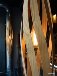 Shoryu Soho Launch Party - Pretty wooden and filament lighting
