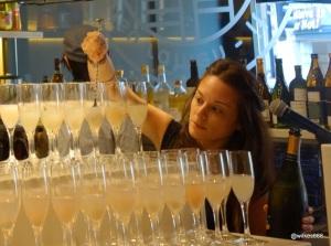 Shoryu Soho Launch Party - Lychee Prosecco Drinks
