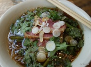 "The Begging Bowl - ""Uncle Att's Pork Noodle Soup with Vermicelli"""