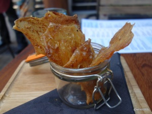 Whyte & Brown - Crisp Chicken Shards (Slow-baked crispy chicken skins with W&B signature seasoning!)