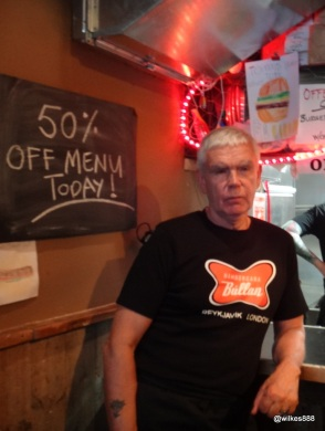 Tommi Tómasson - Founder of Tommi's Burger Joint