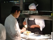 Benares Restaurant (Mayfair) - Chefs in their natural habitat