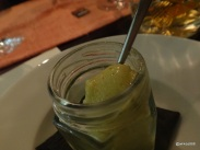 "Benares Restaurant (Mayfair) - ""Nimbu Pani Sorbet"", refreshing palate cleanser"
