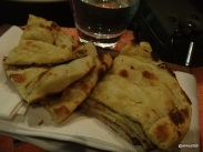 Benares Restaurant (Mayfair) - Quartered and Buttered Naan
